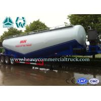 SINOTRUK Heavy Duty Dry Bulk Cement Tank Semi Trailer with Ball Valve Manufactures