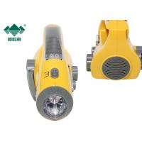Portable Weather Rechargeable Flashlight Radio Hand Crank Am Fm Radio For Camping Manufactures