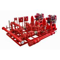 NM Fire UL listed 2000 GPM Vertical Turbine Fire Pump Package with Diesel Engine Manufactures