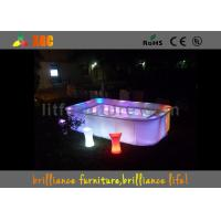 Waterproof PL15 LED bars & bar table , Glowing bar furniture Manufactures