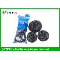 Duarable Kitchen Scrub Pads , Stainless Steel Pot Scrubbers Multi Functio Manufactures