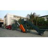 Quality PET bottles crushing,washing machine,drying production line for sale
