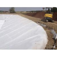 PP/PET Impermeable Lightweight Waterproof Fabric , Woven Polyester Fabric For Road Construction Manufactures