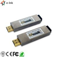 4K*2K 3D Mini HDMI Over Fiber Optic Extender 850nm Wavelength Support HDCP Manufactures