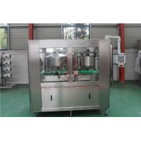 China Juice Bottle Beverage Can Filling Machine With Shrink Wrap Packaging Machine on sale
