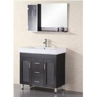 Wooden Bathroom Vanity in Single Sink with Espresso Color 34 (58290) Manufactures