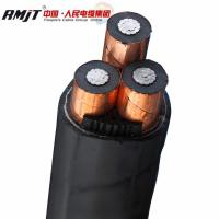 China RMJT 0.6/1kV PVC/PE insulated PVC jacket without armouring copper/aluminium powder cable on sale