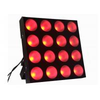Promotional 16pcs x 30W Led wash Blinder Matrix Disco stage Light For Stage Wedding Manufactures