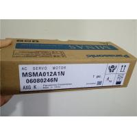 China MSMA012A1N 50/60Hz 2500p/r Panasonic Industrial Servo Drives  30W 100V on sale