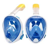 Buy cheap Anti-Fog Diving Full Face Mask / breathable snorkel Mask with Adjustable Head Straps from wholesalers