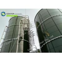 China Glass Fused Steel  Sludge Holding Tank For Green Energy Industrial on sale