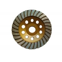 Customized 125mm Grinding Wheel / Concrete Floor Grinding Disc Aggressive Grinding Manufactures