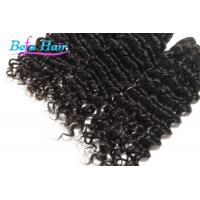 Goddess Deep Wave 22 Inch / 23 inch Indian Virgin Human Hair Extensions Weave Manufactures
