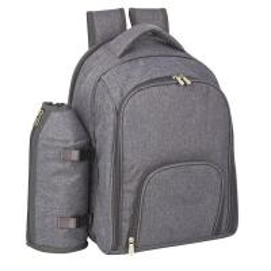 2/4 person wine travel bag and picnic cooler set bag