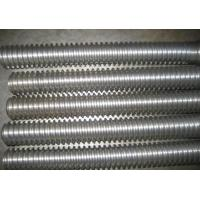 Long Metric High Strength All Thread Rod Carbon Steel Material M4 / M5 / M8 / M10 Manufactures