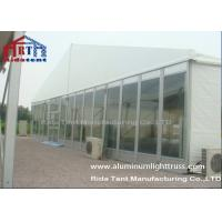 China UV Resistant Outdoor Warehouse Canvas TentsTransparent Sidewall Fabric Long Lifespan on sale
