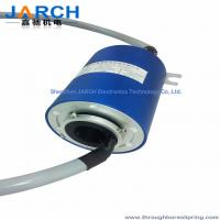 Medical Equipment 60mm Through Bore Rotary Slip Ring 250 ~ 500RPM for Electric Slip Ring Manufactures
