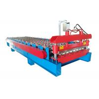 PPGI Sheet With Ribs Metal Roof Making Machine Special For Custruction Company Manufactures