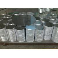 3mm Thick Blank Aluminum Discs , DC Rolled Polished Aluminum Circle Blanks Manufactures