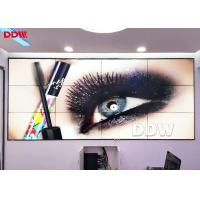 Rich Color Commercial Video Wall 10,000 K White Point 2 X HDMI Input Manufactures