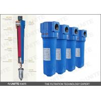 High efficiency Compressed air filter / SS industrial air filter Manufactures