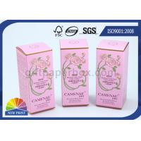 Custom Printed Perfume Packaging Box , Recycled Paper Cosmetic Boxes Eco-friendly Manufactures