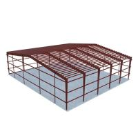 Low Costs Prefab Workshop Steel Structure Buildings Steel Truss Main Frame Manufactures