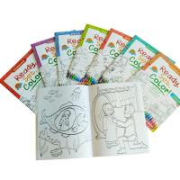 Children Coloring Book Personalised Stationery Gifts A4 / A5 Size Matt Lamination Manufactures