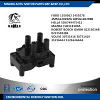 HELLA 5DA749475411 MAZDA C40118100A VOLVO 30731416 FORD 1350562 1459278 4M5G12029ZA Car Ignition Coil , ignition parts Manufactures