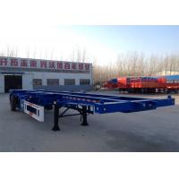 China The Longer Life of Three Axle 40ft Skeleton Container Semitrailer / 40T on sale