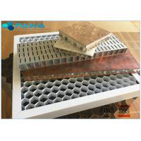 28mm Thickness Eco - Friendly Aluminum Honeycomb Core Panels Curtain Wall Board Manufactures