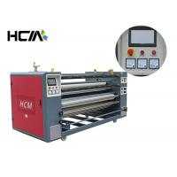 Heat press printing equipment / roller heat press machine for cut - piece roll to roll fabric Manufactures