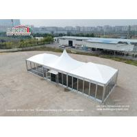 5x5m Modular Outdoor Event Tents With Glass Door Snow Loading 30kg/Sqm Manufactures