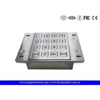 Vending Machine Dust Proof Numeric Key Pad Metal With USB Interface Manufactures