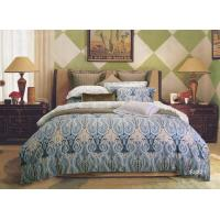 Healthy Dye Printing Sateen Bedding Sets , Duvet Cover bed comforters sets Manufactures