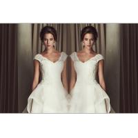 Sexy Deep V Neck Sweetheart Lace Wedding Dress 3D Slim Open back wedding gowns Manufactures