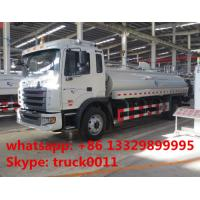 China CLW brand JAC 4X2 10000L water cannon vehicle for sale, JAC 4*2 LHD 10m3 water carrier vehicle with cheapest price on sale