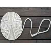 8mm nylon diamond solid double braid twist 3-strand anchor dock rope code line Manufactures