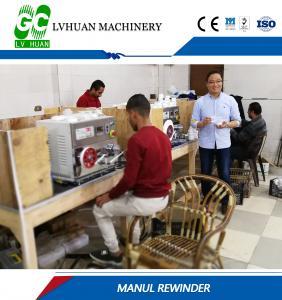 Plastic Circular Paper Slitter Rewinder Machine Stable Running Energy Saving Manufactures