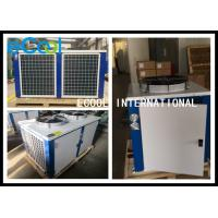 Horizontal Cold Room Condensing Unit / AC Condenser Air Conditioning System Manufactures