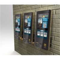 32 Inch Touch Screen Payment Kiosk Self Ordering Wall Mounted For Fast Service Manufactures