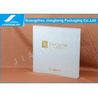 Quality SGS Logo Printing Cosmetic Packaging Boxes Hot Stamping With Eva Insert for sale