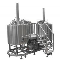 Steam Heated Micro Brewing Equipment , 10BBL Or Customized Brewhouse Manufactures