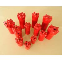 China 11 degree Tapered Button Drill Bit , Small Hole Drilling Tools on sale
