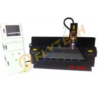 Latest 4*8feet tombstone engraving machine with pully heavy duty cnc router machine Manufactures