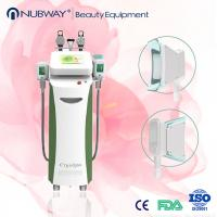 Quality best Cryolipolysis 2 Cryo handle + 2 rf handle + 1 cavitation handle for sale