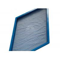 China U Type Frame Diamond Mesh Expanded Metal Mesh For Decoration Wall Panel on sale