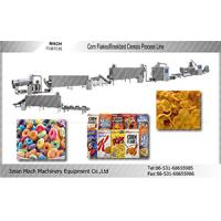 Complete cornflakes breakfast cereals processing line Manufactures