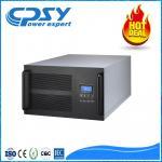 Rack Mount Server Power Supply / Online Ups Price Pure Sine Wave Manufactures