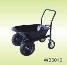 China Four Wheel(WB4800)WHEELBARROW WHEEL BARROW, HAND TROLLEY,PLATFORM HAND TRUCK,RUBBER WHEEL on sale